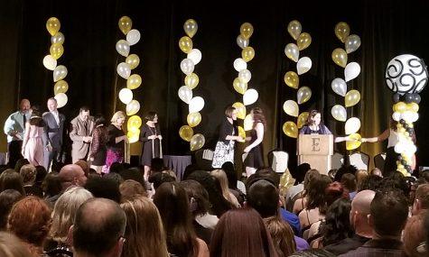 Awarding Osceola Seniors' Achievements