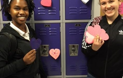 Valentine's Day Hearts Show Love to OCSA Campus