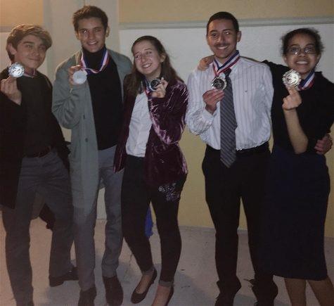 OCSA Speech and Debate Team at CFDI Tournament, Liberty High School.