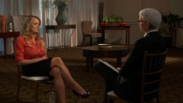Stormy Daniels interview with Anderson Cooper.