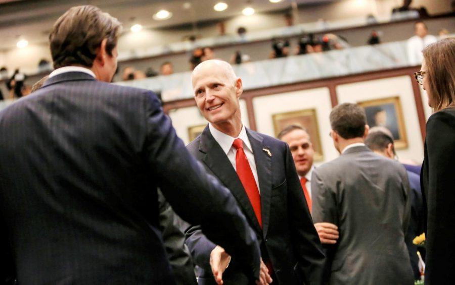 Florida+governor+Rick+Scott.++