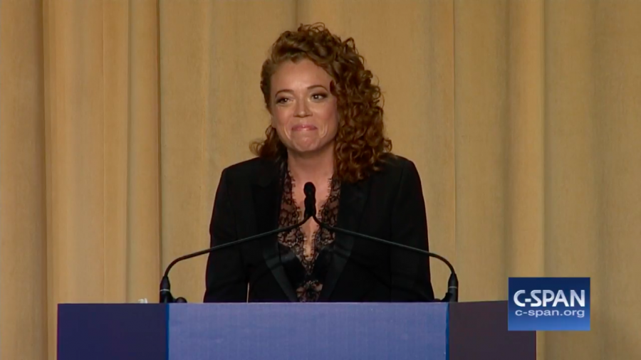 Michelle Wolf at  White House coorespondent dinner.