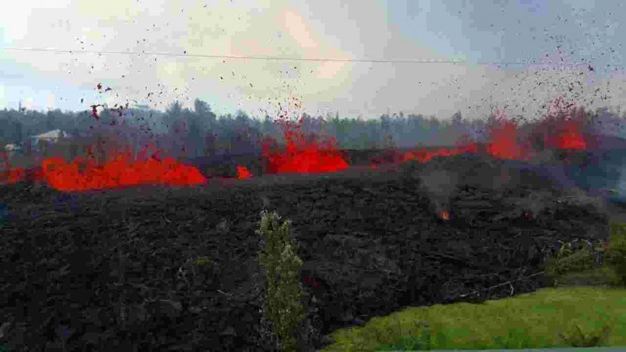 Hawaii Fires Keep Burning