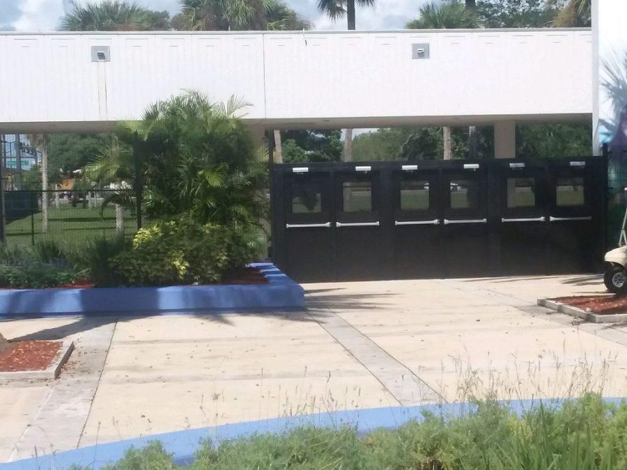 The new school gate