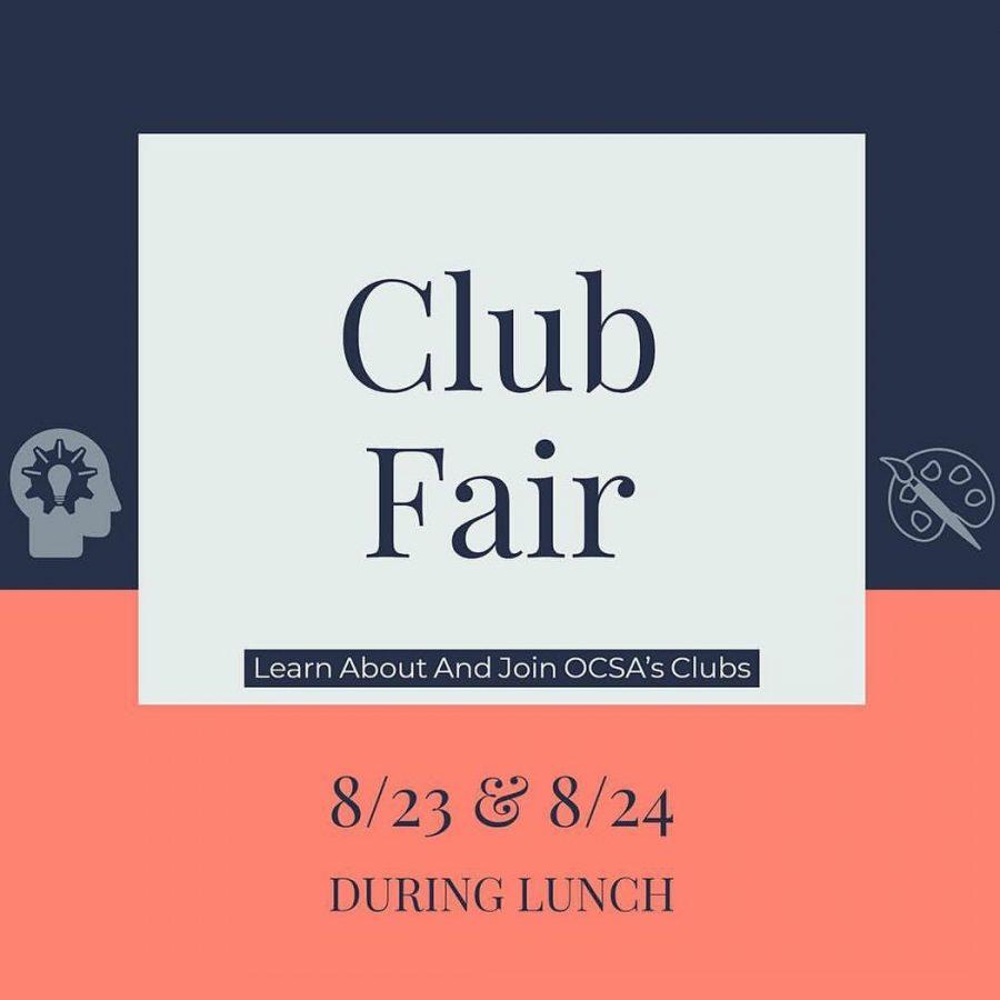 Get to the Club Fair!