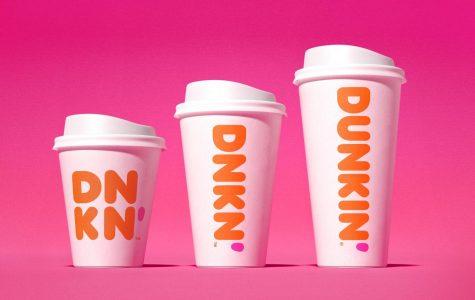 New Dunkin' logo