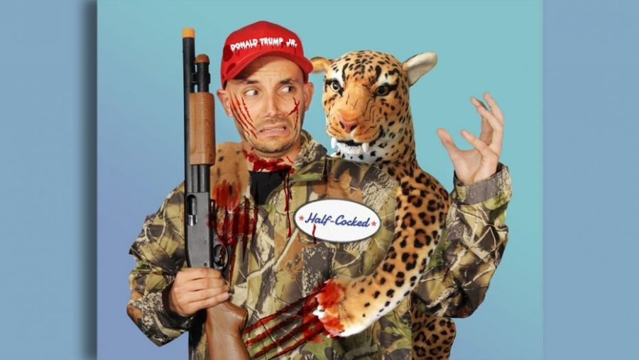 PETA satirically released a  costume , poking fun at Donald Trump Jr.'s big game hunting.