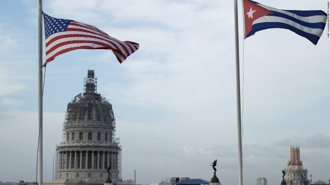 The US and Cuba are once again on strained terms.
