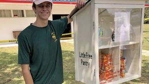 Outdoor Food Pantries Built by Lake County Boy Scouts