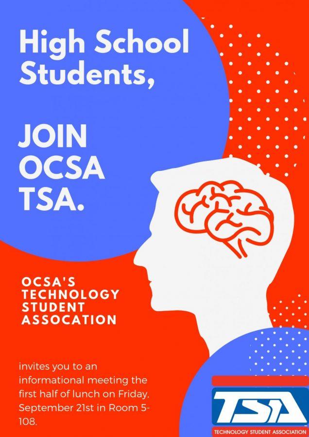 Join OCSA TSA!
