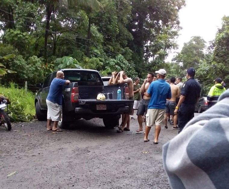 Rafting Accident in Costa Rica