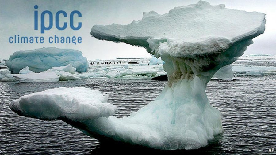 The UN has received new information on the developing climate change.