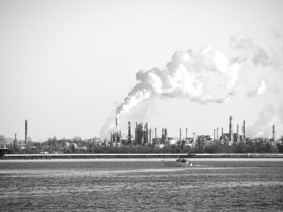 Refinery in Washington.