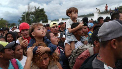 4,000-Strong Migrant Caravan Pushes North