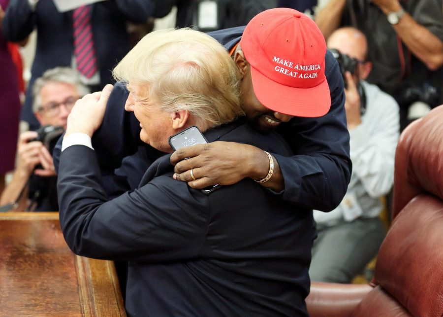 Successful oval office lunch with Donald Trump and Kanye West.