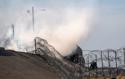Tear Gas Used at The U.S.-Mexico Border