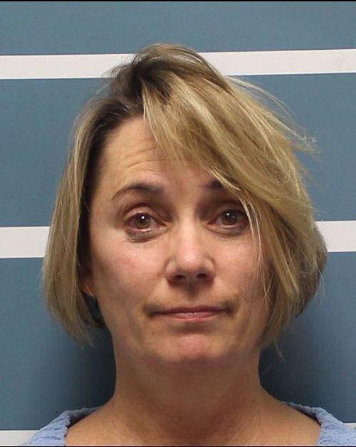Tular County Sheriff's Office mugshot of Margaret Gieszinger.