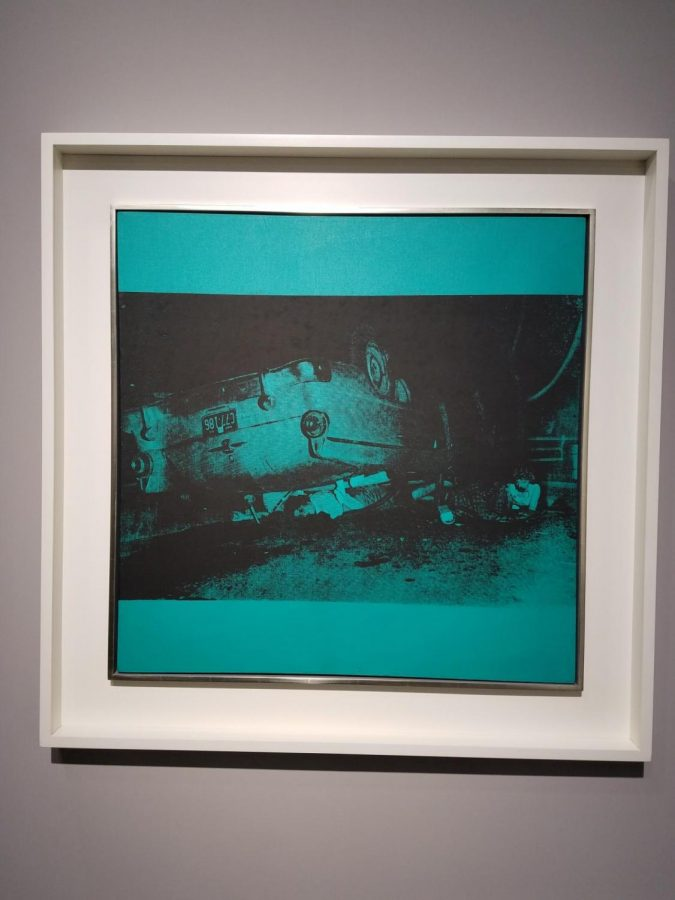 Five+Deaths+on+Turquoise%2C+crafted+by+Andy+Warhol+in+1963.