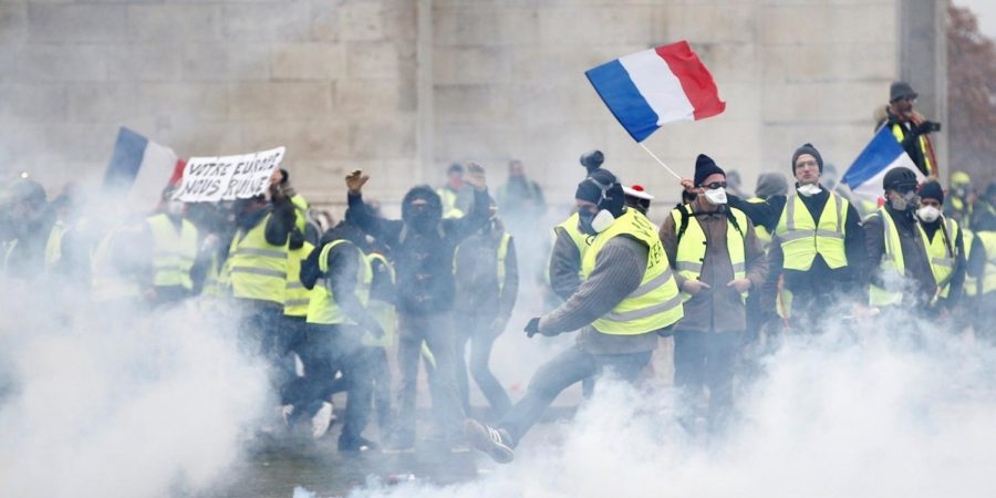 Yellow+Vest+riots+in+France