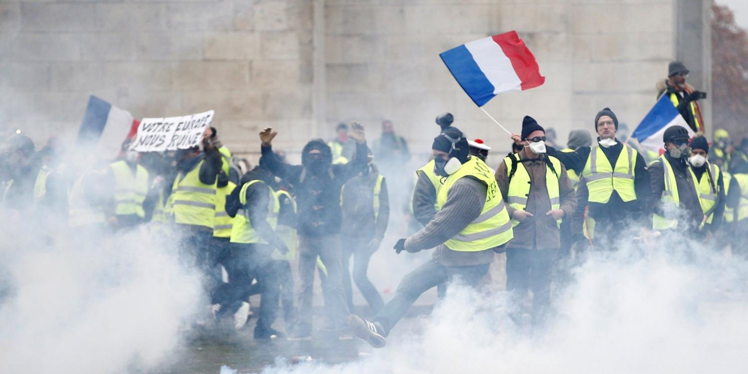 Yellow Vest riots in France