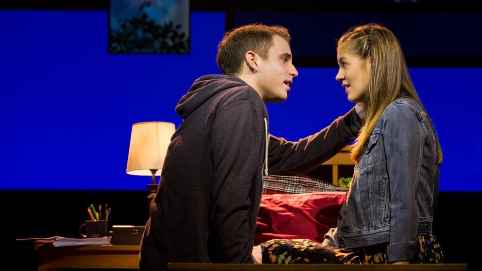 Ben Platt and Laura Dreyfuss