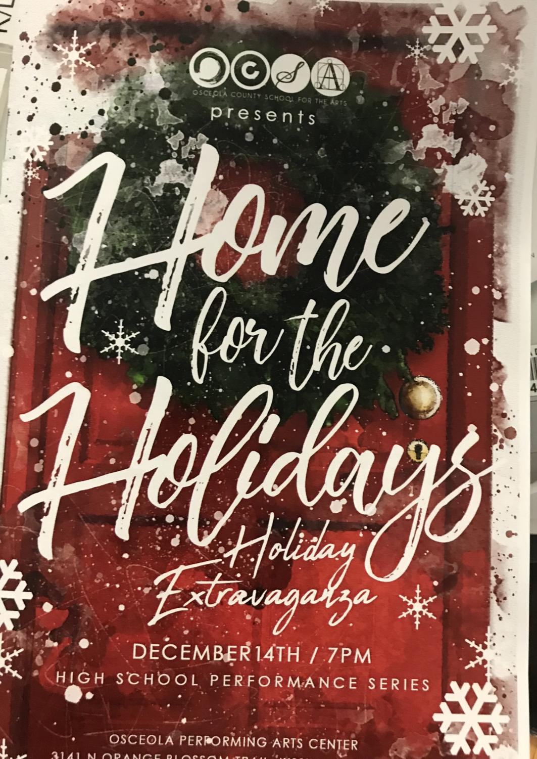 The Home for the Holidays themed Holiday Extravaganza.