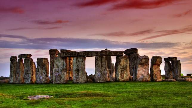 Stonehenge located in Wiltshire England.