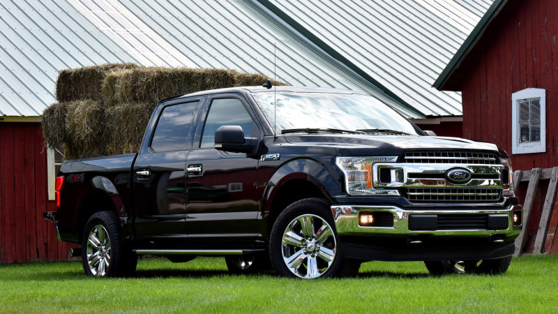 Ford recalling 874,000 F-Series pickup trucks in North America