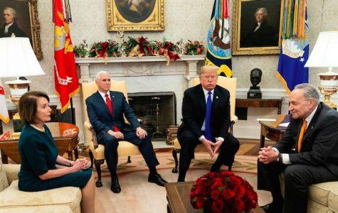 Trump Opens the White House to the Press for an Awkward Shutdown Showdown