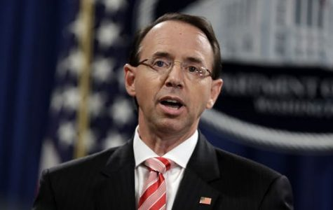 Rosenstein Planning on Leaving Justice Department