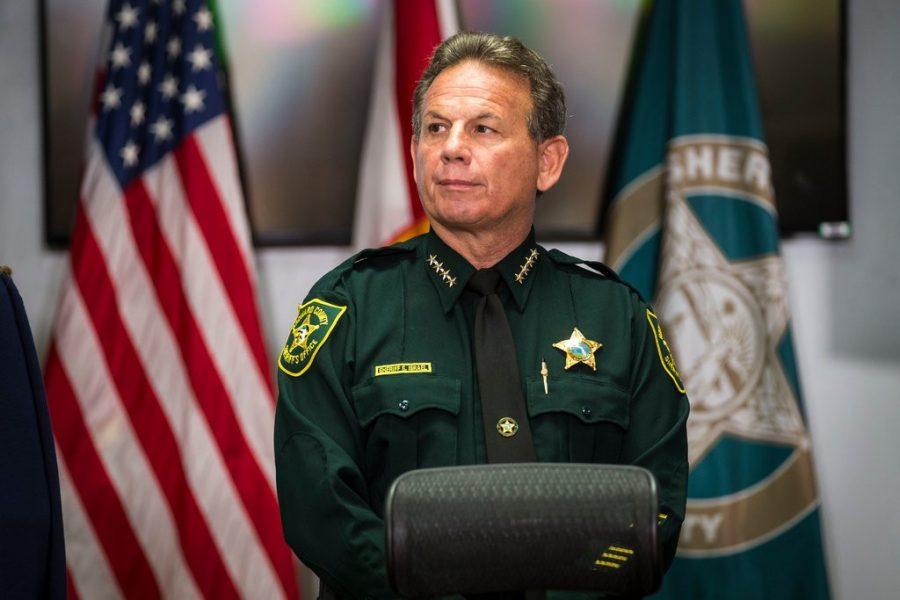Sheriff Scott Israel.
