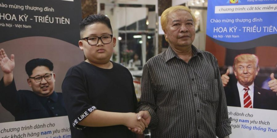 Barber Shop Offer Trump- and Kim-styled Haircuts in Support of Summit