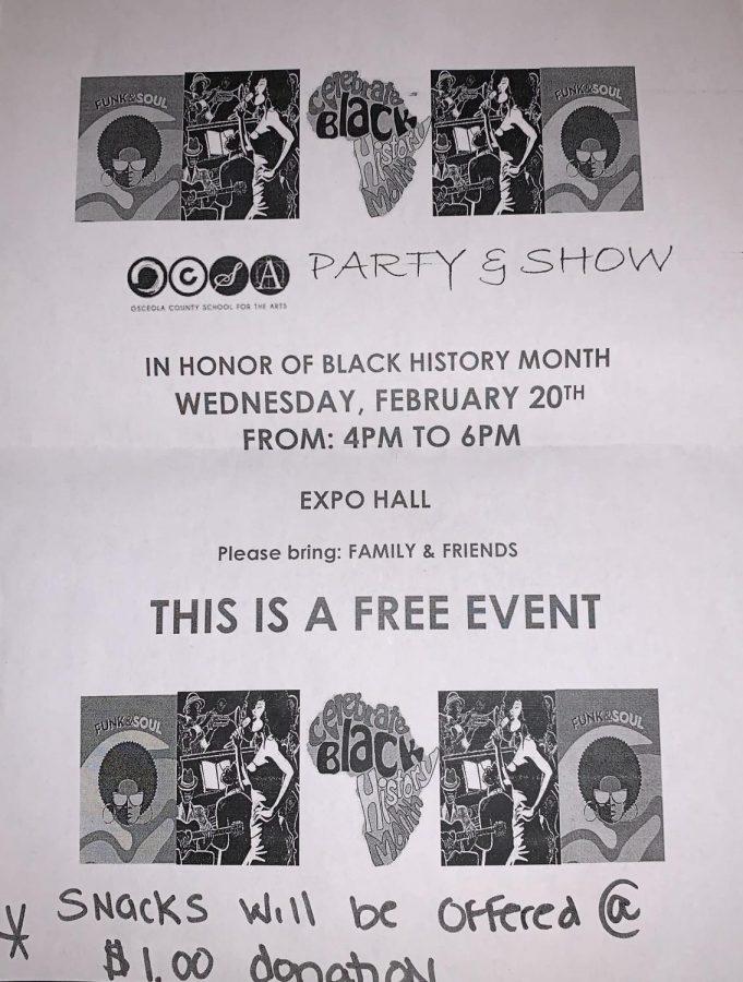 Black History Month Performances