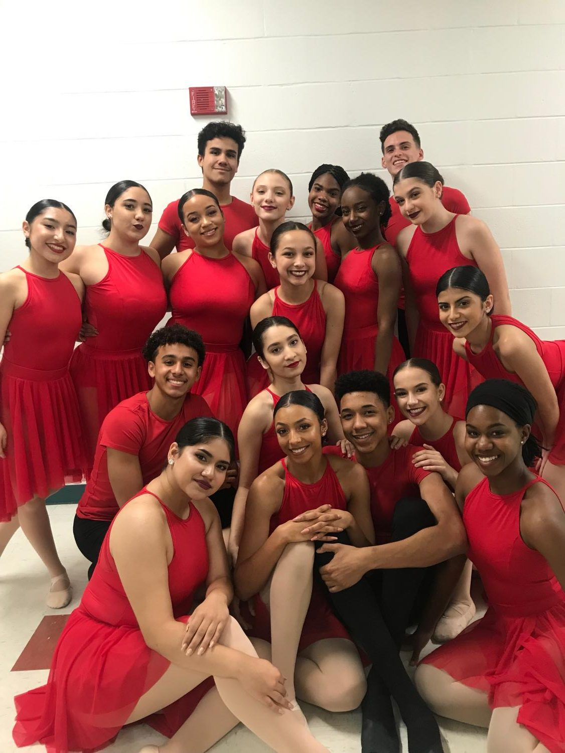 The Osceola County School for the Arts dancers.