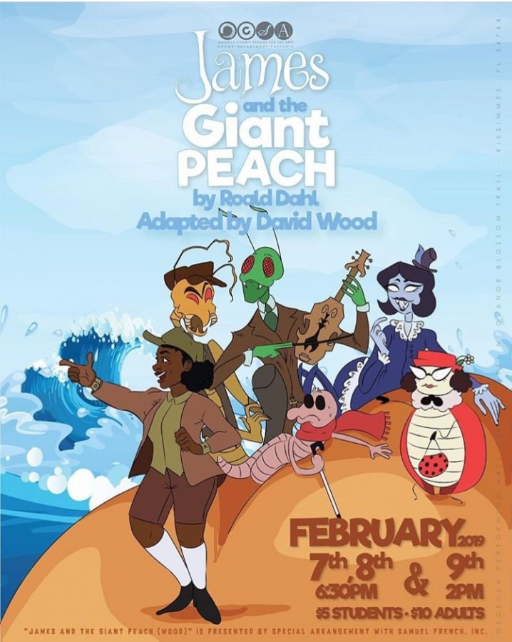 James and The Giant Peach is Coming