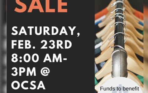 OCSA's Symphony Yard Sale
