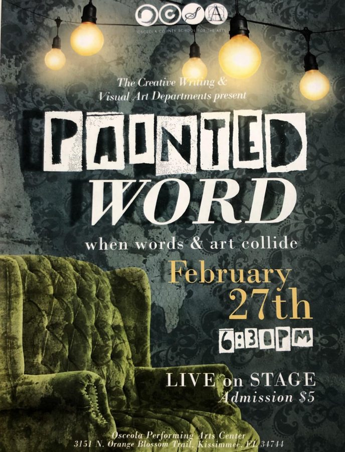 Painted Word, February 27th, 2019 at 6:30 p.m.