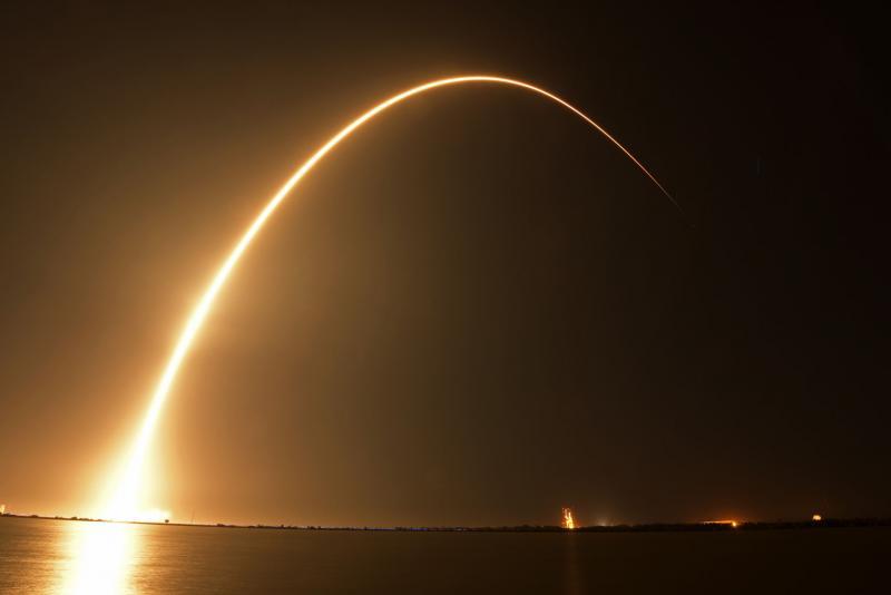 First Private Moon Lander Rides Shotgun on SpaceX Rocket