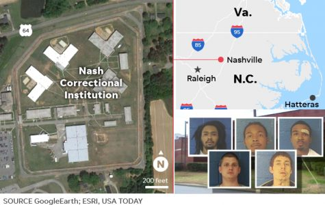 Four of Five Inmates Caught in Detention Center Escape