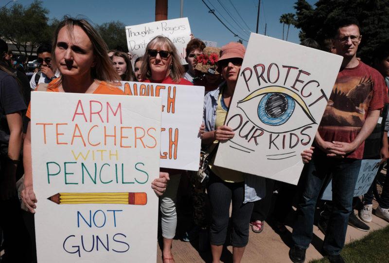 Lawmakers Want to Arm School Teachers