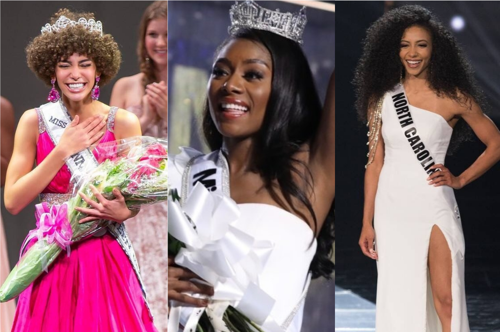 Cheslie Kryst was announced Miss USA last week with Nia Franklin, winner of Miss America 2019 and recently crowned 2019 Miss Teen USA Kaliegh Garris.