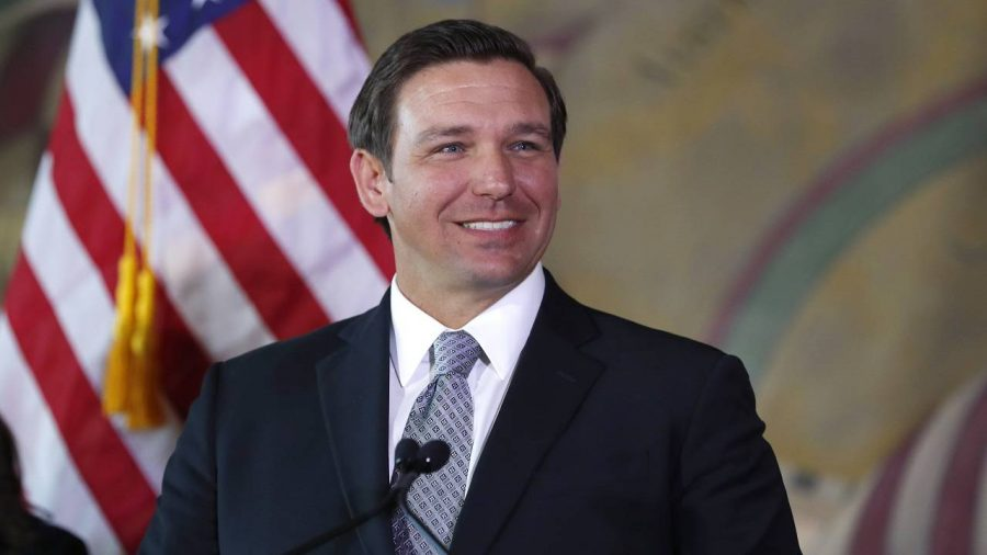 Gov.+Ron+Desantis+has+signed+a+bill+that+will+allow+more+classroom+teachers+to+carry+guns+in+school