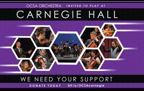The OCSA Symphony Orchestra is Going to Carnegie Hall!