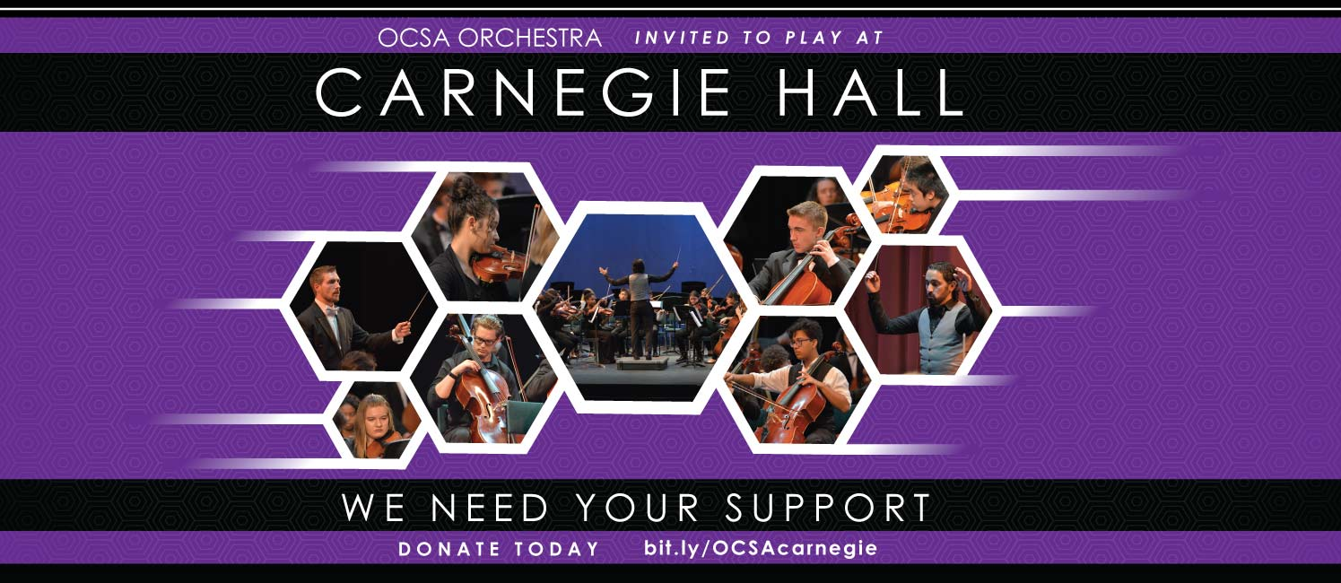 The symphony orchestra from the Osceola County School for the Arts will be performing at Carnegie Hall in New York this June.
