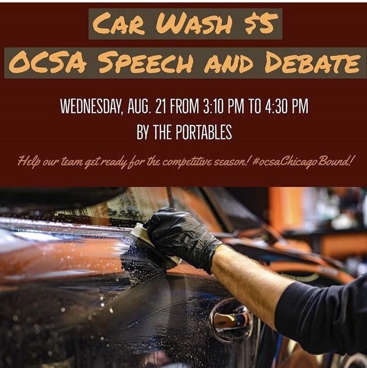 Speech and Debate Car Wash Fundraiser
