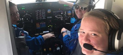 First All-Female Hurricane Hunting Crew Tracks Dorrian While Making History