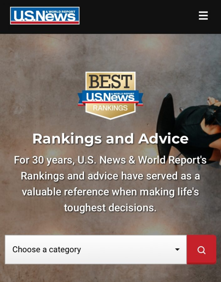 The+US+News+and+World+Report+has+released+its+Best+National+University+and+Best+Liberal+Arts+College+rankings+for+the+2020+year.