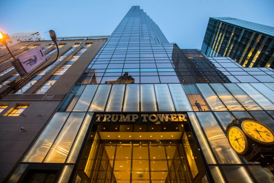 An estimated $350,000 worth of jewelry was stolen from Trump Tower.