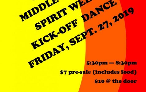 Middle School Dance is Tomorrow!