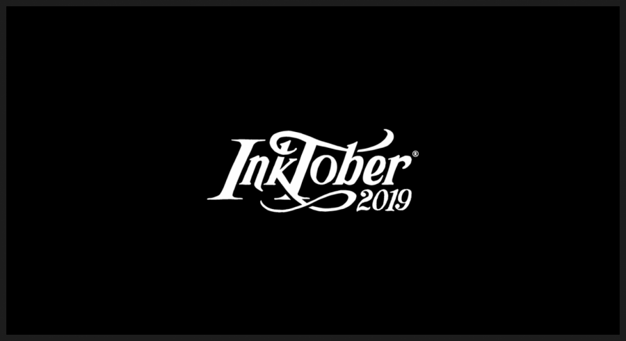 Inktober 2019, taken from Inktober.com